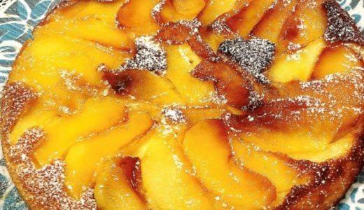 りんごパンケーキの簡単なレシピ🍎