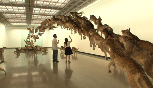 美術館めぐりとウォーキング
