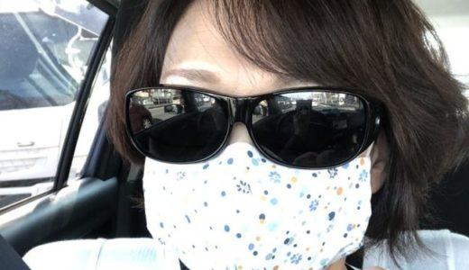 手縫いマスクを使う