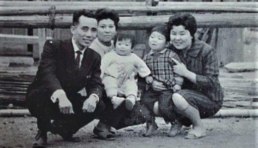 """1枚のモノクロ写真ー""""60年前の写真"""""""