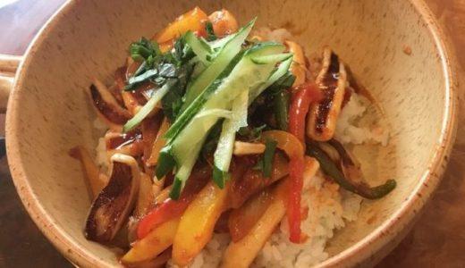 私流❤韓国風イカ丼