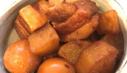 トロトロの豚角煮作ったよ