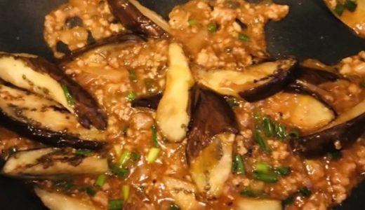 今日の一品㉙-麻婆豆腐と麻婆茄子を同時に作る