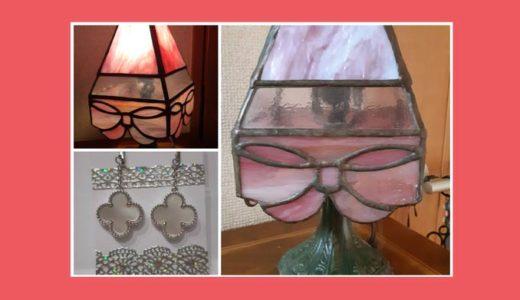 四面のガラスランプ