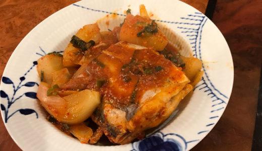 私流❤️韓国風太刀魚の煮付け(갈치조림)
