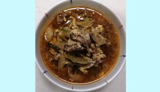アボジが作ったカルビスープ