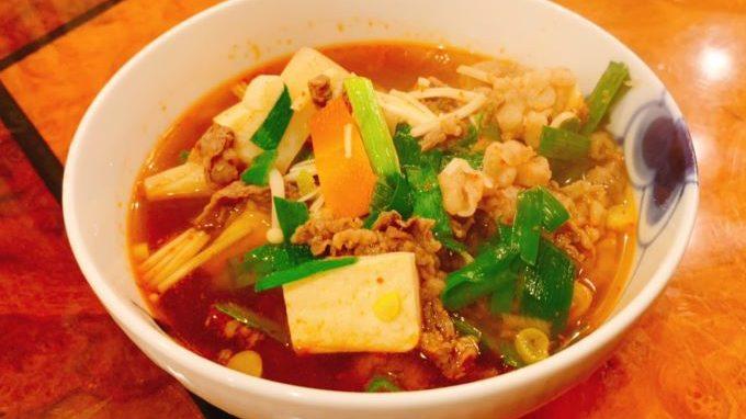 私流❤️簡単ユッケジャンスープ