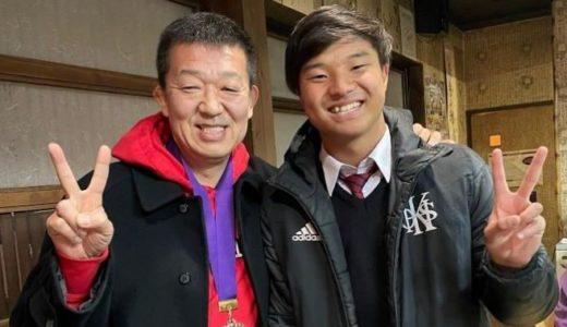 大阪朝高ラグビー部15番・キンアンピョン選手に会って来ました