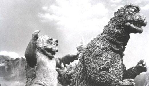 2枚の「ゴジラ岩」