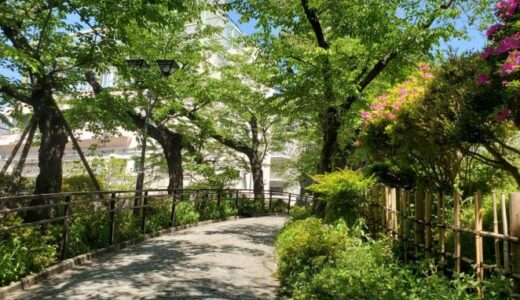 街ぶら探訪~山手線沿線⑭新緑の公園を散歩―五反田