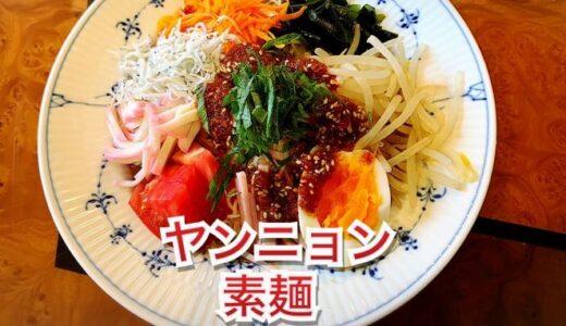 私流❤️ヤンニョン素麺