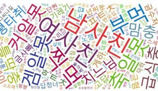 韓国の新語「ドラマ編」