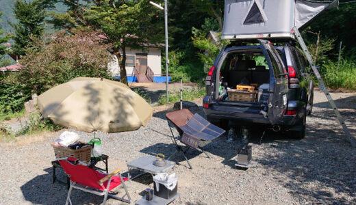 4連休も一人キャンプ場で過ごす