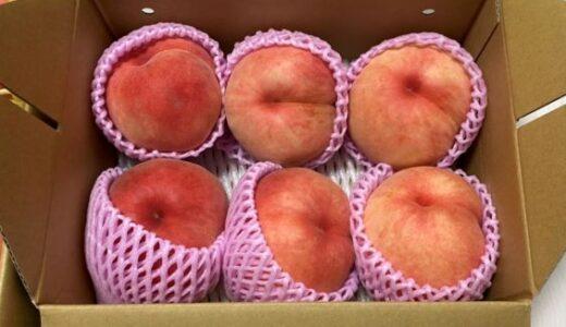 「おどろきの桃🍑」今年も届きました